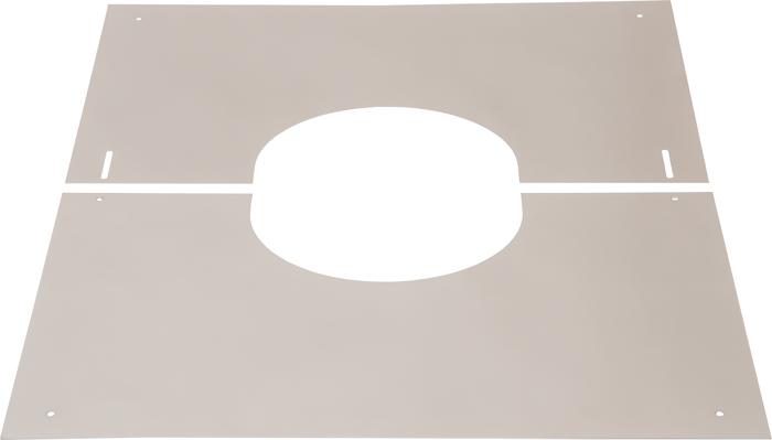 Abdeckblende 0–30° | Edelstahlkamin DW Standard / Premium / Trend