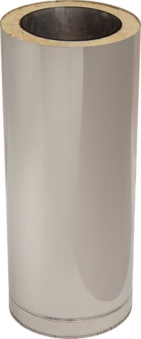 Längenelement 500 mm mit Wandfutter | Edelstahlkamin DW Trend
