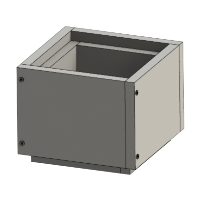 Schachtelement 250 mm   Leichtbauschacht