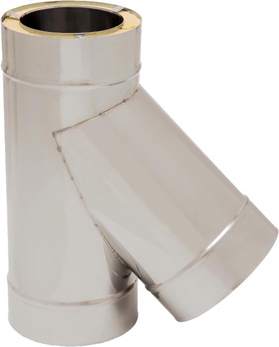 T-Stück 45° | Edelstahlkamin DW Standard / Premium