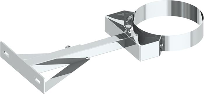Wandhalter 250–360 mm verstellbar | Edelstahlschornstein DW Keramik