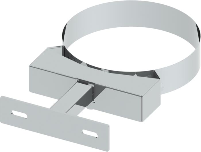 Wandhalter 50–150 mm verstellbar | Edelstahlschornstein DW Keramik