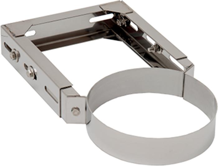 Wandhalter 3 verstellbar | Edelstahlkamin DW Standard / Premium / Trend