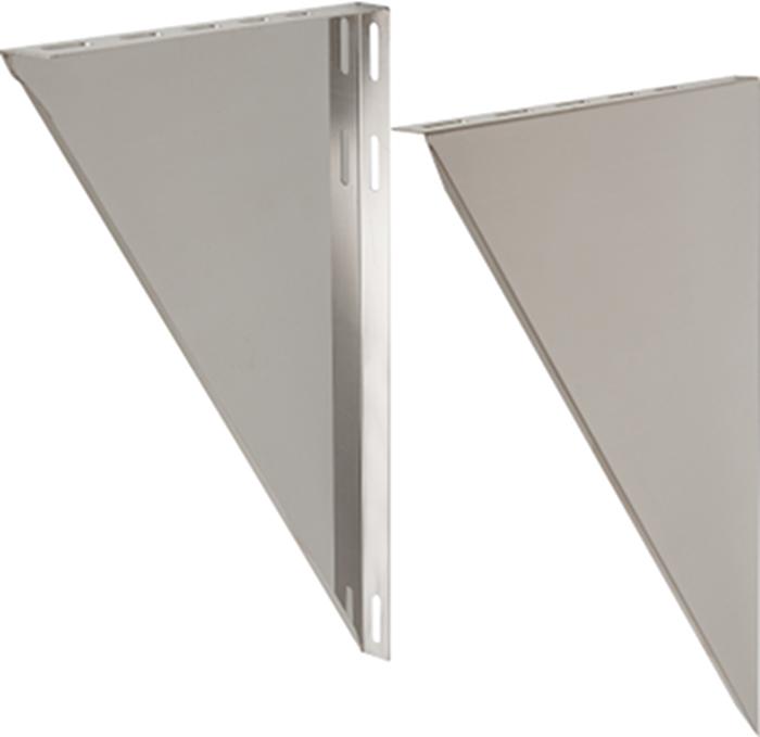 Wandkonsole 100–200 mm verstellbar | Edelstahlkamin DW Standard / Premium / Trend