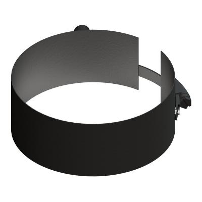 Befestigungsschelle mit Gewindemuffe schwarz | EW Pellets