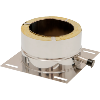 Bodenplatte universal | Edelstahlkamin DW Standard / Premium