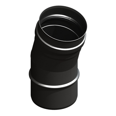 Bogen 15° schwarz | EW Pellets