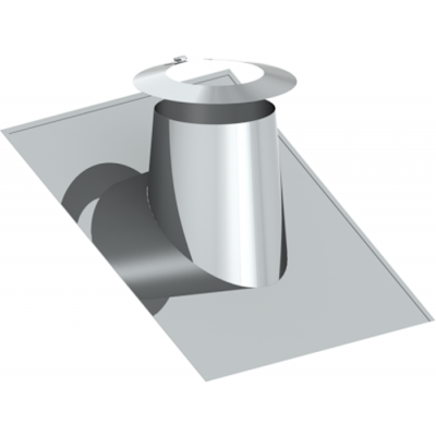 Dachdurchführung 26–35° | Edelstahlschornstein DW Keramik