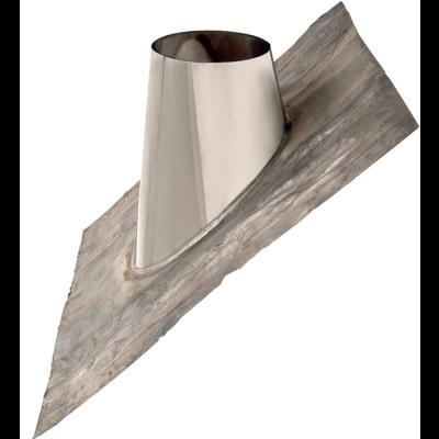 Dachdurchführung 35–50° | Edelstahlkamin DW Standard / Premium / Trend