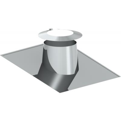 Dachdurchführung 5–15° | Edelstahlschornstein DW Keramik