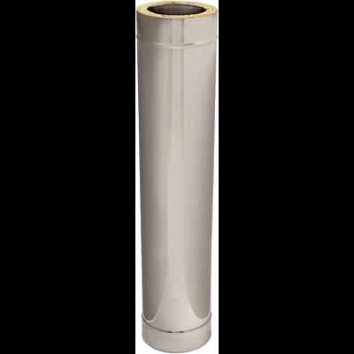 Längenelement 1000 mm | Edelstahlkamin DW Standard / Premium