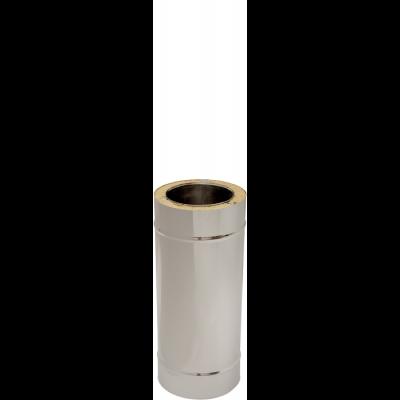 Längenelement 500 mm | Edelstahlkamin DW Standard / Premium