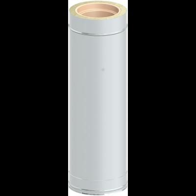 Längenelement 720 mm | Edelstahlschornstein DW Keramik