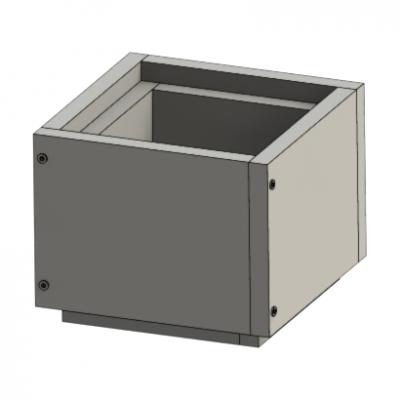 Schachtelement 250 mm | Leichtbauschacht