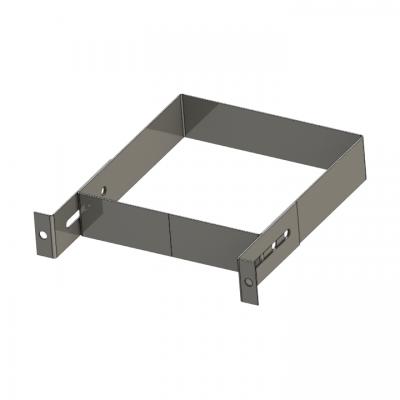 Wandhalter 0–100 mm für Schacht | Leichtbauschacht