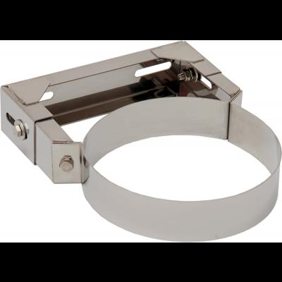 Wandhalter 1 verstellbar | Edelstahlkamin DW Standard / Premium / Trend