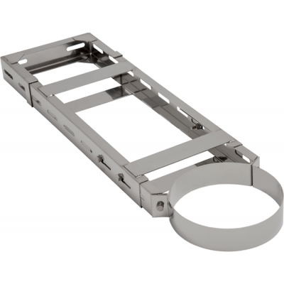 Wandhalter 5 verstellbar | Edelstahlkamin DW Standard / Premium / Trend