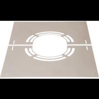 Abdeckblende 0° mit Lüftungsschlitze DW Keramik